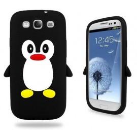 Silikonový kryt Samsung Galaxy S3 tučňák