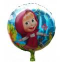 Balónek Máša a medvěd - Máša 45x45cm